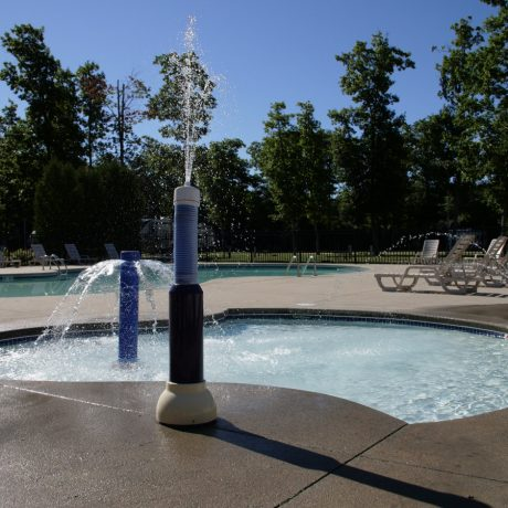 pool and splash pad
