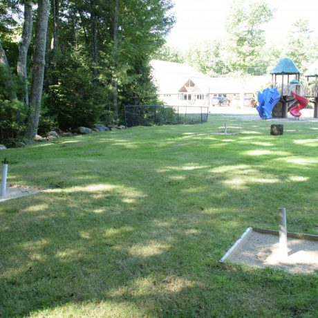 horseshoes and playground